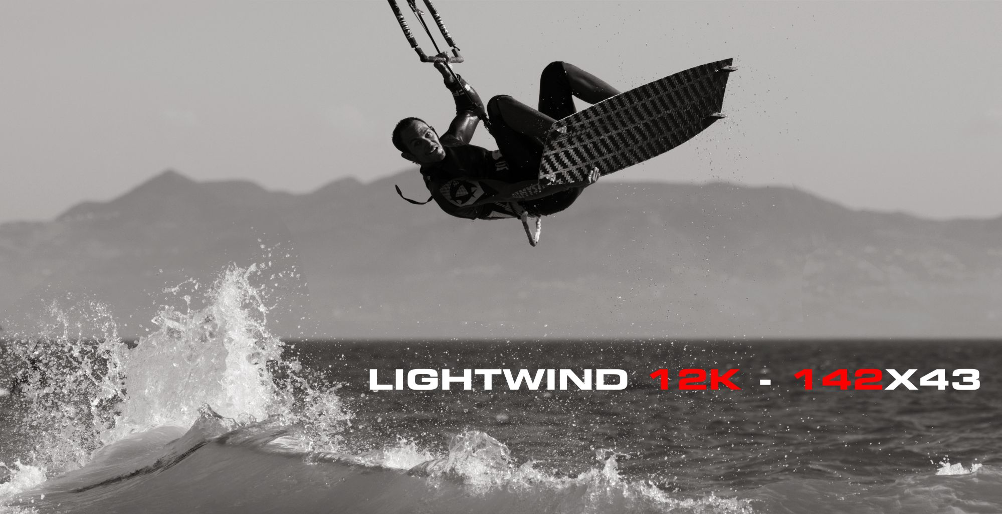 testing in tarifa 142 lightwind 12k
